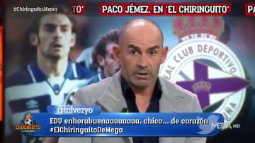 """Paco Jémez recuerda el penalti de Djukic con el Deportivo: """"Se sintió responsable de no ganar la Liga"""""""