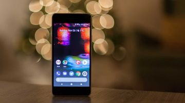 Un móvil Android