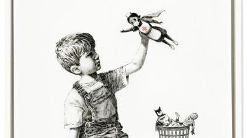La obra 'Game Changer', de Banksy