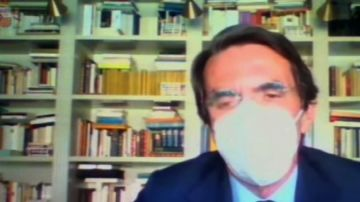 José María Aznar declara en el juicio por la caja b del PP