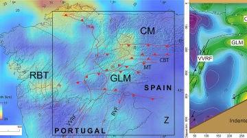 Cafe y arena para explicar los terremotos en el noroeste de la peninsula iberica