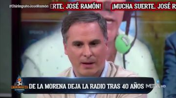 """Las emotivas palabras de Manu Sainz tras la marcha de José Ramón de la Morena en 'El Chiringuito: """"Le debo estar donde estoy ahora"""""""