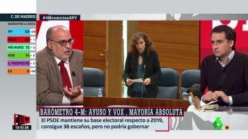 """Tenso debate entre Enric Juliana y Lluís Orriols: """"Vienes con afán de polemizar"""""""