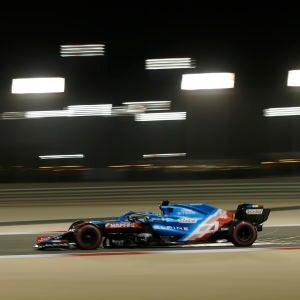 Fernando Alonso en la clasificación del GP de Baréin