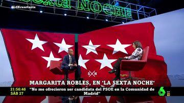 Margarita Robles en laSexta Noche