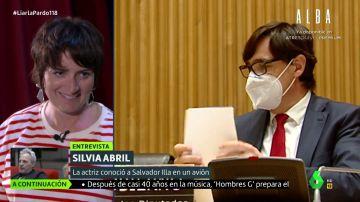 """Así fue el momento en el que Silvia Abril ocupó el asiento de Illa en un avión: """"Buenafuente me echó la bronca"""""""