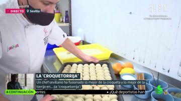 El invento de un chef sevillano para Semana Santa: las croquetoriijas