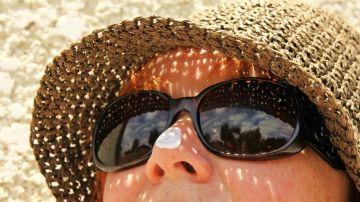 Imagen de archivo de protector solar