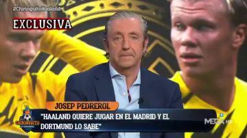 """Exclusiva de Pedrerol: """"Halaand quiere marcharse al Real Madrid en Junio"""""""