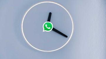 Reloj con WhatsApp