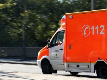 Furgoneta de emergencias 112