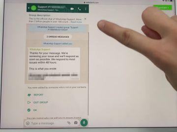 Así será la opción de soporte técnico de WhatsApp