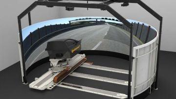 Dynamic Driving Simulator