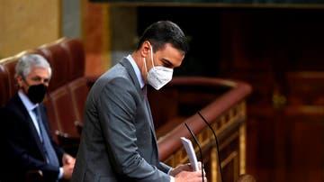 El presidente del Gobierno, Pedro Sánchez durante la sesión de este miércoles en el Congreso