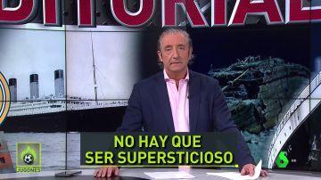 Josep Pedrerol, en Jugones, en laSexta