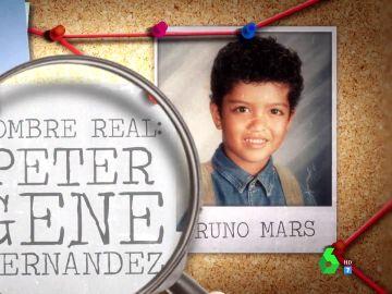 Las cuatro claves que evidencian que Bruno Mars podría ser el hijo de Michael Jackson