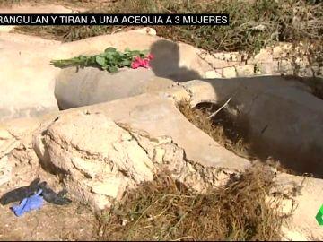Investigan tres asesinatos similares en la Comunitat Valenciana: tres mujeres ahogadas en una acequia
