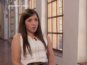 Rocío, hermana de un agente asesinado por Igor el Ruso