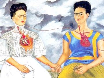 Cuadro 'Las dos Fridas', de Frida Kahlo