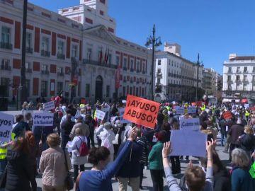 Protesta de la Marea Blanca en Madrid