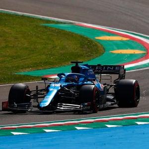 Fernando Alonso, en el GP de Emilia-Romaña