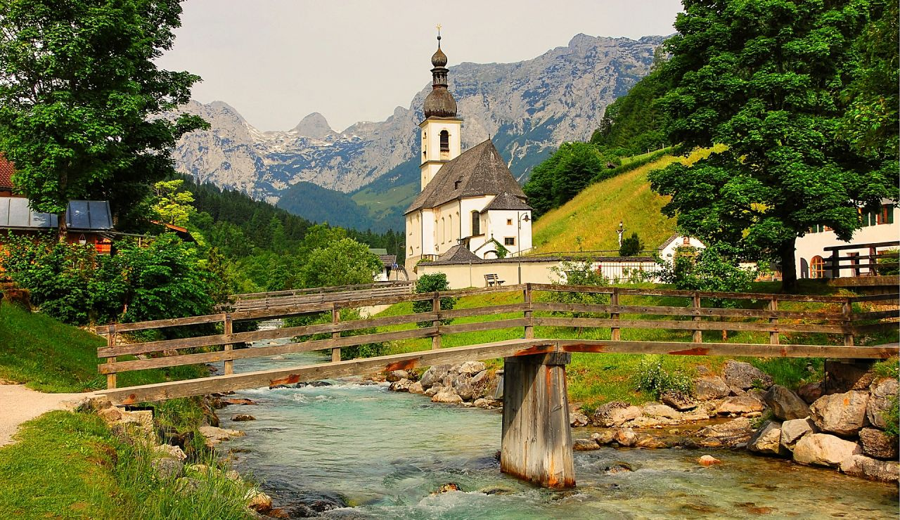 Ramsau bei Berchtesgaden. Baviera