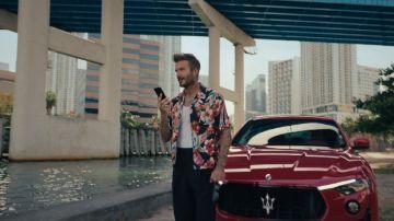 David Beckham y Maserati