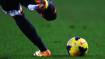 Imagen de archivo de un partido de la Premier League