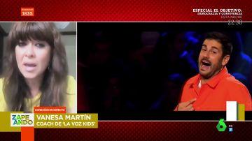"""Vanesa Martín confiesa sus piques con Melendi en 'La Voz Kids': """"Hay momentos de conflicto"""""""