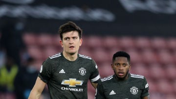 Harry Maguire y Fred