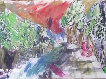El apoyo masivo al tierno dibujo de una niña de seis años que su profesora de arte criticó