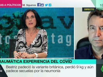 """Bea de Vicente relata su experiencia """"traumática"""" en el Zendal para superar el coronavirus: """"Es una granja de pollos"""""""