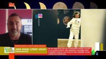 Así es 'Jochi', el español que busca convertirse en el nuevo Pedro Duque