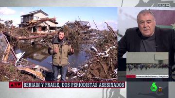 Homenaje de Ferreras a los periodistas asesinados