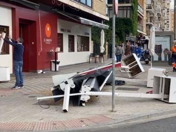 Cuatro personas resultan heridas tras sufrir un atropello múltiple por un conductor ebrio en Sevilla