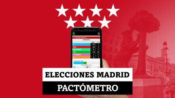 Pactómetro: estos son los posibles pactos en Madrid que se pueden dar según las encuestas
