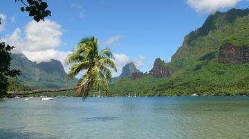 Bahía Cook en Polinesia Francesa