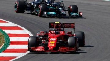 Carlos Sainz en el GP de Portimao