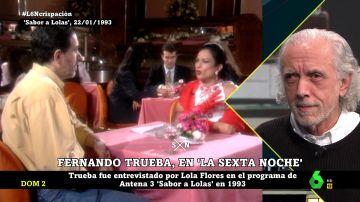 Fernando Trueba y Lola Flores