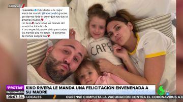 La felicitación con dardo incluido de Kiko Rivera a Isabel Pantoja por el Día de la Madre