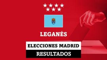 Resultados de las elecciones en Leganés