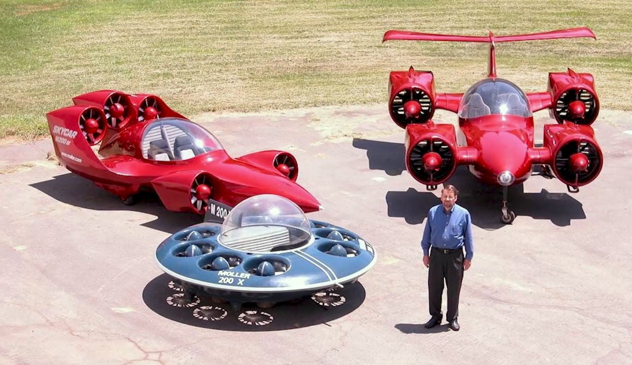 Motorpedia: los coches voladores