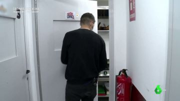 Entrada a una 'cocina fantasma'