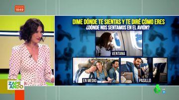 Lo que tu asiento en un avión dice de ti: así es tu personalidad si eliges ventanilla o pasillo