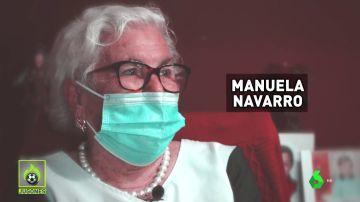 """Manuela, tras conocer a Rafa Nadal: """"Fue la mayor ilusión de mi vida"""""""