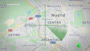 Imagen del centro de Madrid