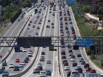 Estado del tráfico en la A6
