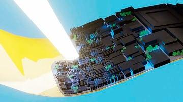 Supercondensadores de grafeno para almacenar energia