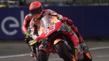 Marc Márquez, el más rápido del FP3 del GP de Francia