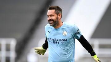 Scott Carson, portero de 35 años del Manchester City